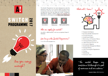 SWITCH Social Entrepreneurship Programme
